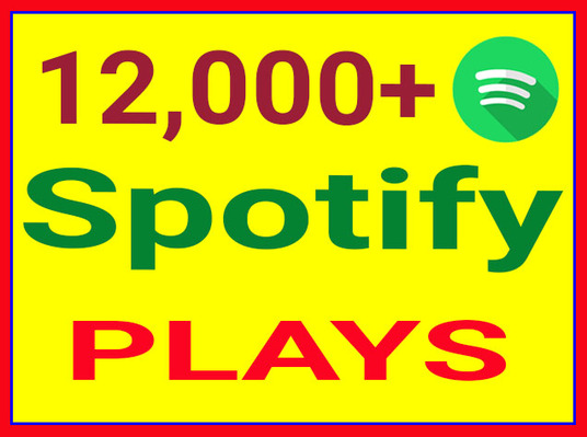I will Provide You 1200+ Targetted  Spotify  Plays