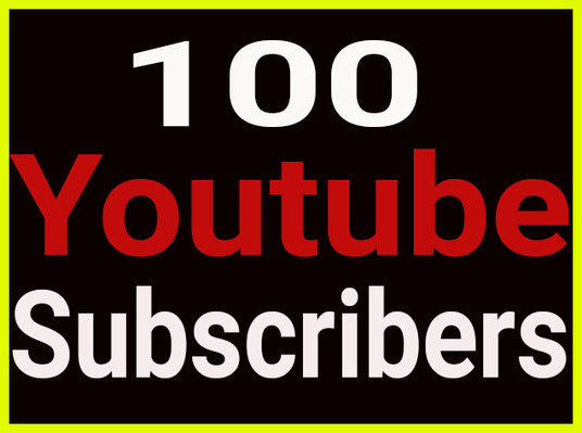 I will provide 100 genuine youtube subscribers