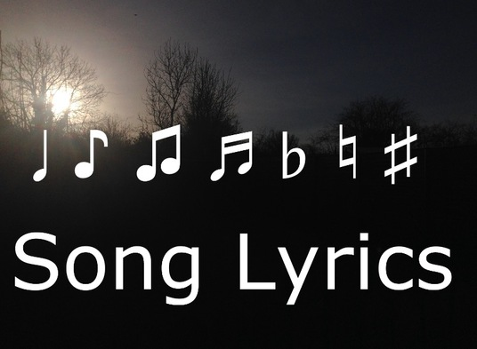 I will Write Song Lyrics