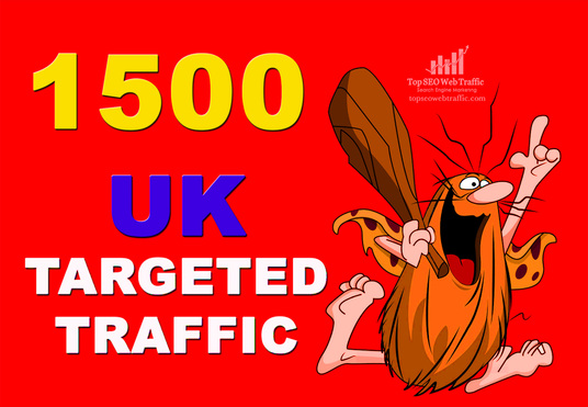I will Send1500 UK Targeted Traffic To Your Web Or Blog Site