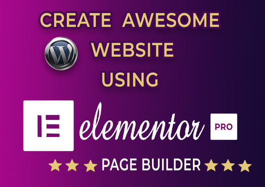 Make awesome responsive website using Elementor Pro for £ ...