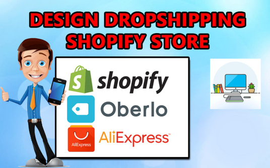 I will design a complete dropshipping shopify store
