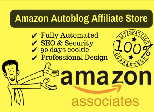 I will Setup Amazon Affiliate Website With Autoblog