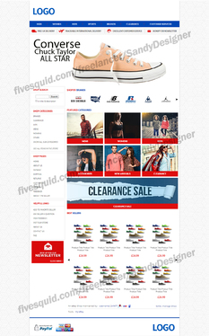 design amazing ebay store shop html listing template