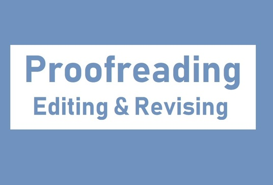 I will proofread and edit thesis, dissertation, book or novel - up to 5000 words -