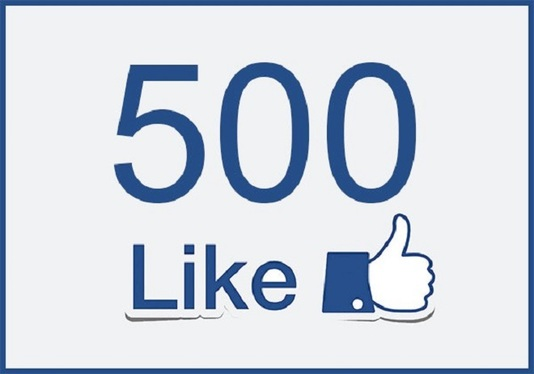 add 500  Real Facebook page likes Followers