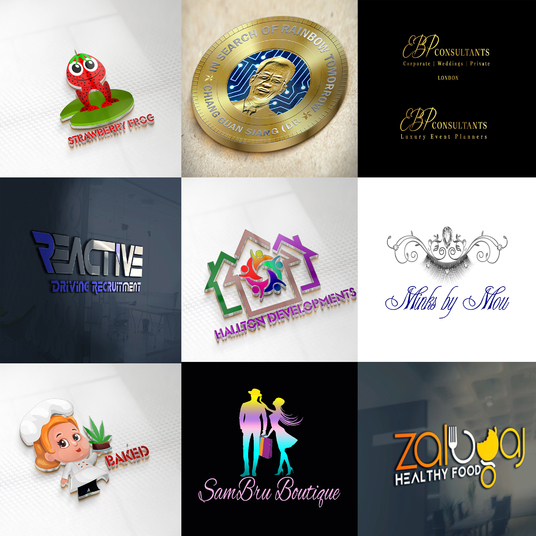 I will do a 3d logo design