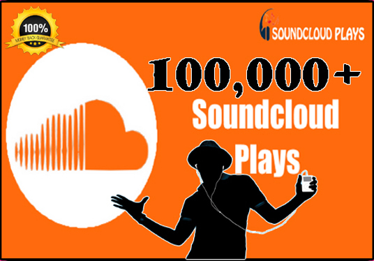 I will Send 10K Sound Cloud Plays
