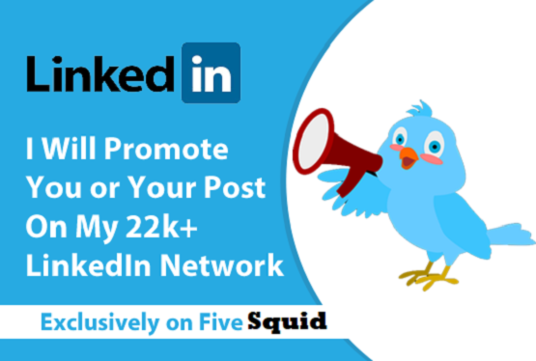 I will Promote You or Your Blog Post on My 22,000+ LinkedIn Network