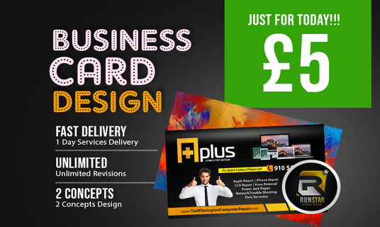 I will Create Awesome Custom Business Card Design With Two Concepts