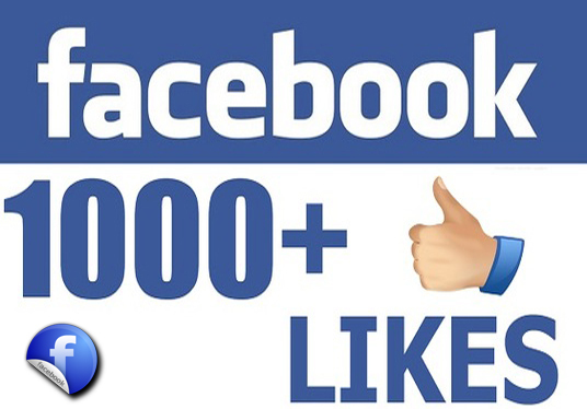 I will provide 1000 Facebook Post Likes
