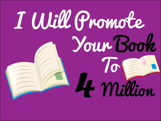 I will do ebook promotion to 4 million readers