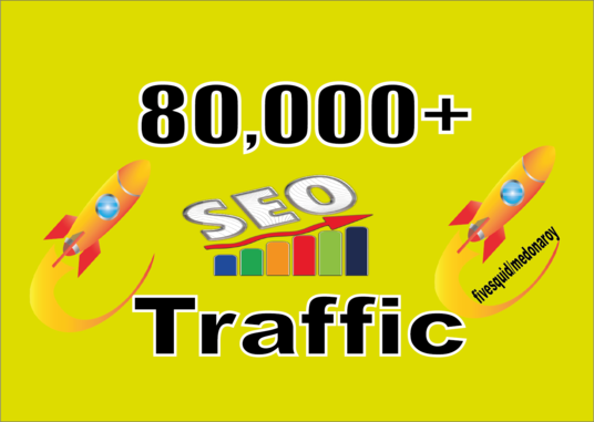 I will Send Fast 80.000 real Worldwide website traffic visitors from all Countries