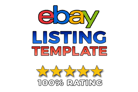 I will Create Amazing Ebay HTML Listing Template