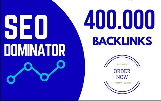 Give 400,000+High Quality backlinks For Your website