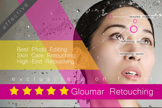 I will do photo retouching and photo editing