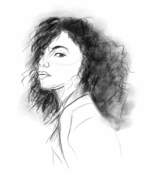I will Sketch you in a realistic style