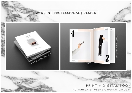 Design Look-book / Catalogue / Line sheets / E-Book / Digital / Print
