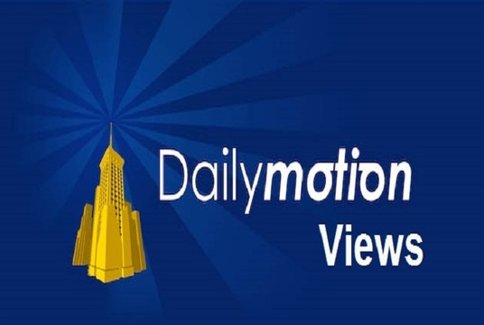 I will Provide 2000+ Dailymotion Video views