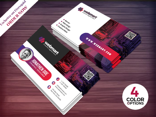 I will Design Professional, Modern And Elegant Business Card