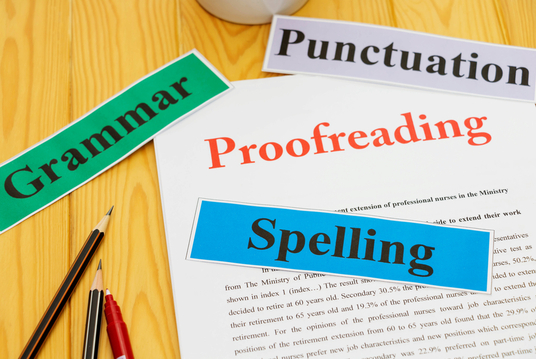 be your professional proofreader and editor - up to 1000 words