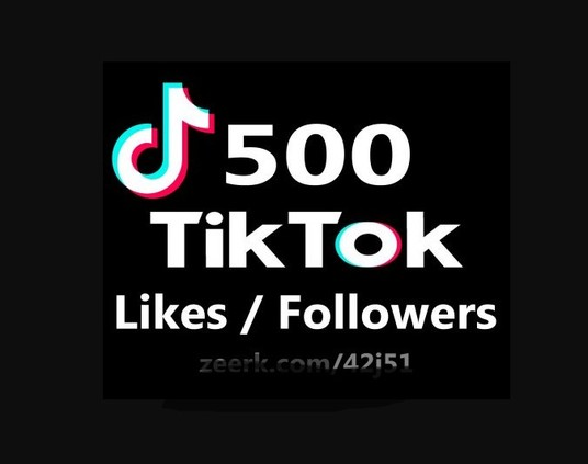 I will Instant Start 500+ TikTok Likes / Followers Never Drop