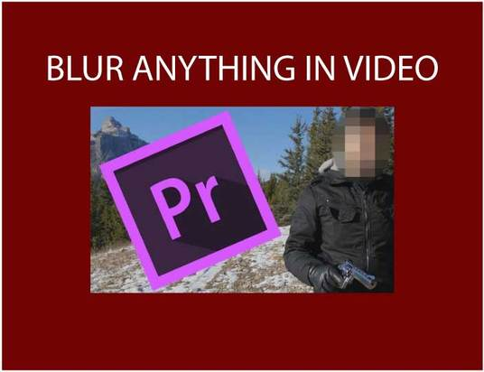 I will blur any text ,object or face in video