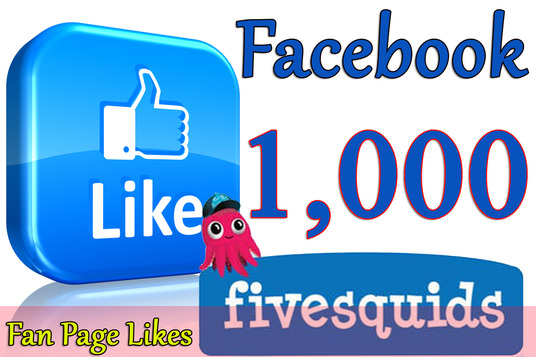 I will Give you 1,000 Facebook Likes