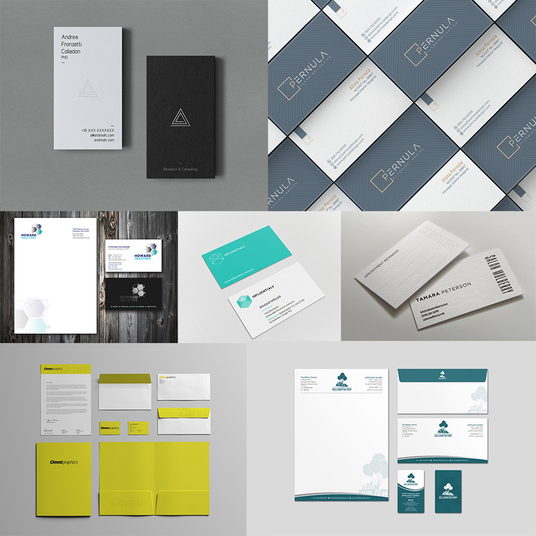 I will Design Luxury Business Cards, Letterhead, And Stationery