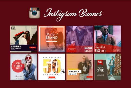 cccccc-design awesome Instagram banner