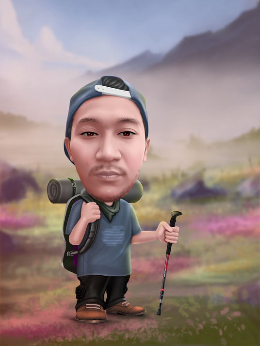I will make caricature from your photo