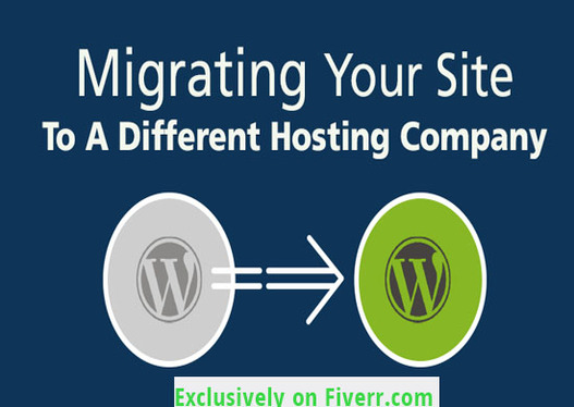 migrate or transfer your website