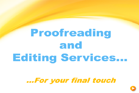 I will proofread and edit your content - up to 1000 words