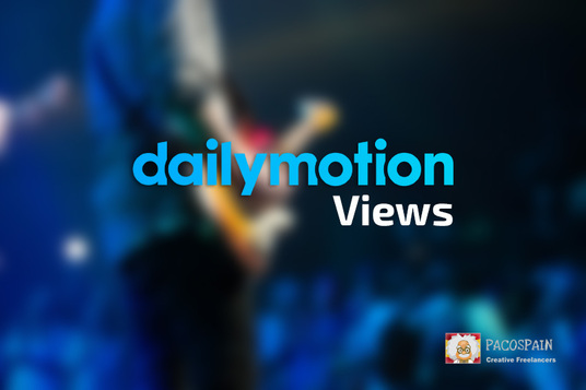 I will add 5,000 DAILYMOTION video views