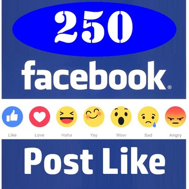 provide 200+ facebook post likes