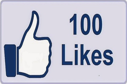 I will give you 100+ Facebook page likes