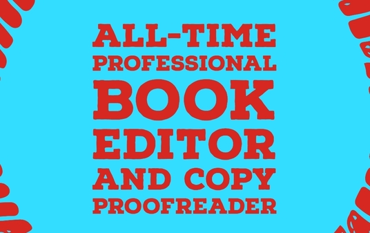 I will be your book editor - up to 1000 words