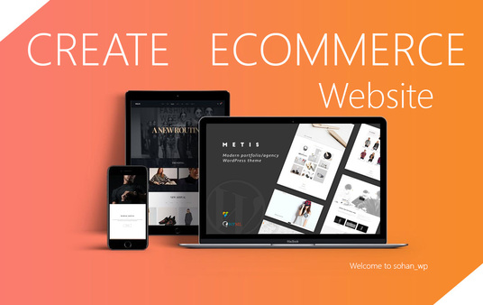 I will Develop Ecommerce Website Online Store