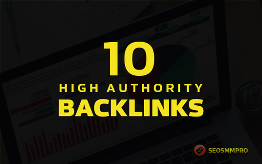 I will build high authority backlinks from top sites, high quality SEO