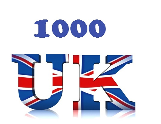 I will send 1000 UK  Youtube Views  + 5 likes + 2 subscribers + 2 comments  with EXTRAS