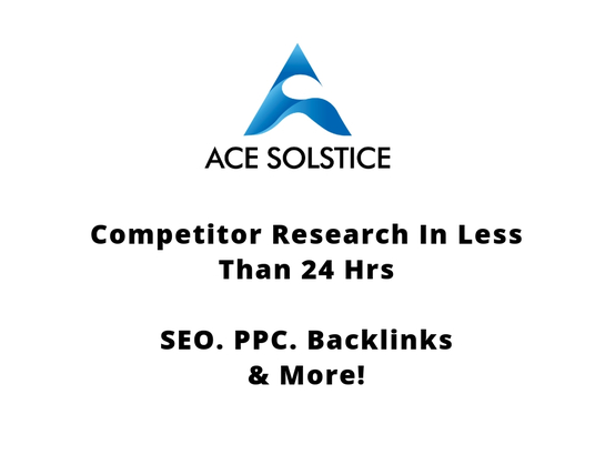 I will make in depth competitor research in less than 24 hrs - SEO, PPC, Backlinks & More