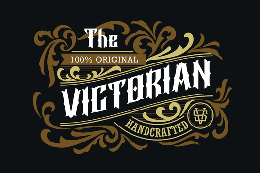 I will Create A Custom Vintage Design, Typography and Brand