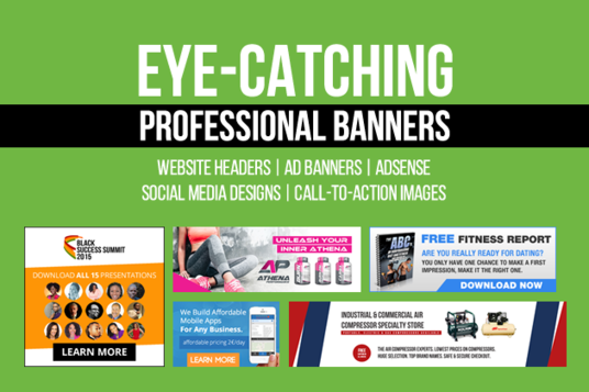 I will design awesome social media cover or website banner