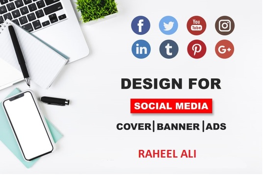 design powerful social networks cover photo banner