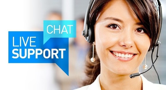 I will be your customer service agent via chat on your website