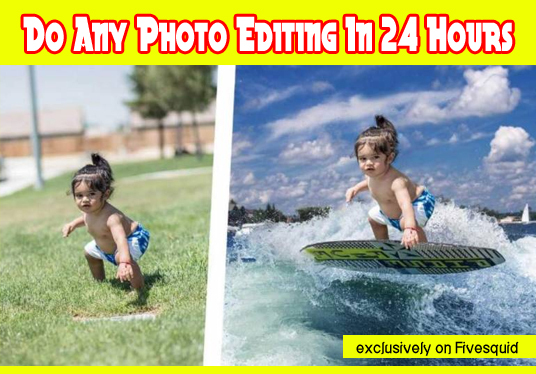 I will Do Any Photo Editing In 24 Hours