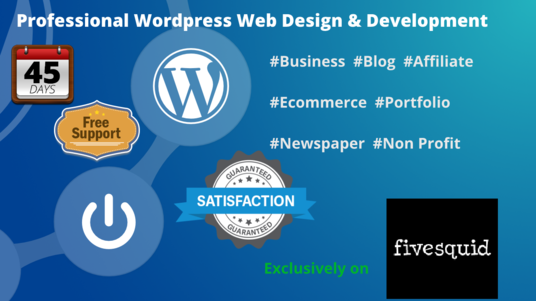 I will Build A Responsive Wordpress Website