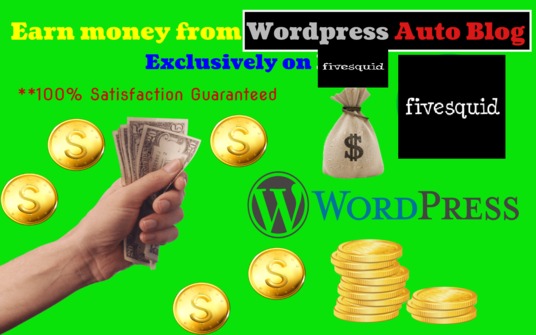 I will Create Profit Making Responsive Auto Blogging Website