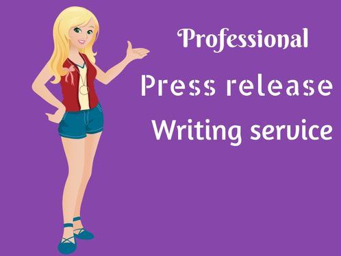 Provide A Professional Press Release Writing Service