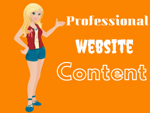 Write Website Content For All Pages